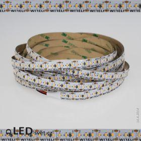 LED pásek 3014 12V 21.6W/m, 1800lm/m WW - teplá b. | 3.3cm