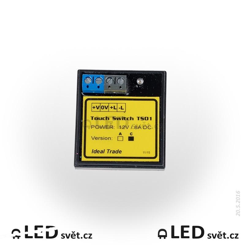 TS01C - Dotykový senzor pro spínání LED 12V