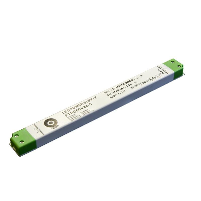 ZDROJ POS POWER SLIM FTPC60V12-S, 12V 5A 60W
