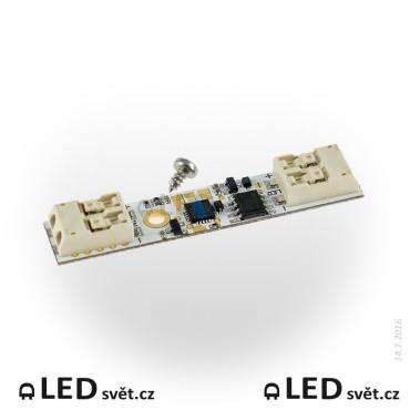 ETD5CB - Dotykový vypínač a stmívač pro LED pásky 12/24V do al. profilů - nepájivý