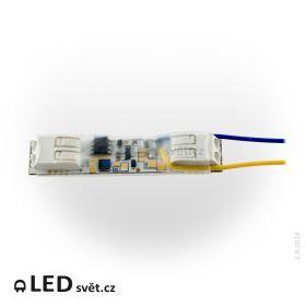 Stmívač ESD7 pro LED pásky 12/24V - modul pro tlačítko