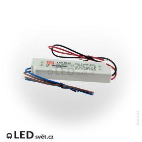 LPH-18-12 Meanwell Napájecí zdroj pro LED 18W 12V