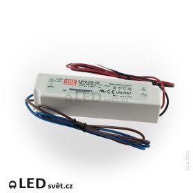 LPV-35-12 Meanwell Napájecí zdroj pro LED 35W 12V