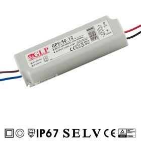 Zdroj GLP GPV-50-12, 12V 4.0A 48W IP67
