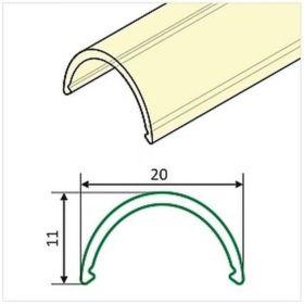 Difuzor  WIRELI D půlkulatá OPAL 2 m