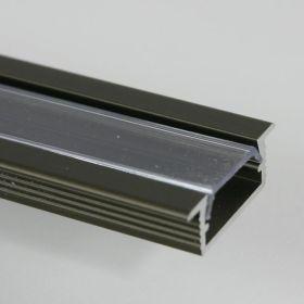 Zápustný profil pro led pásky č. 2 ALU BRONZ