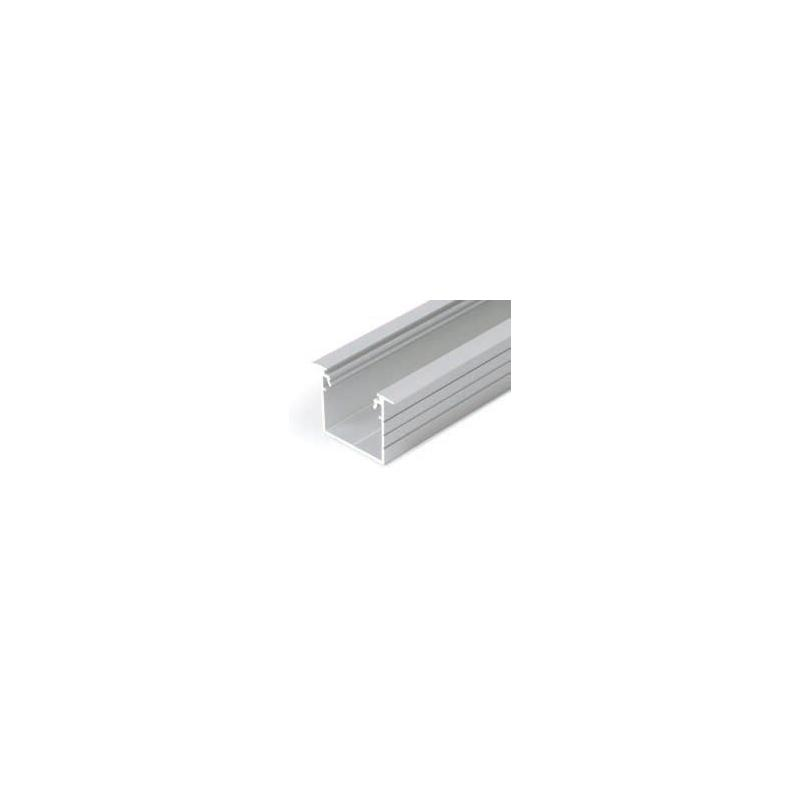 Profil WIRELI LINEA-IN 20  EF/TY hliník anoda, 2m (metráž)