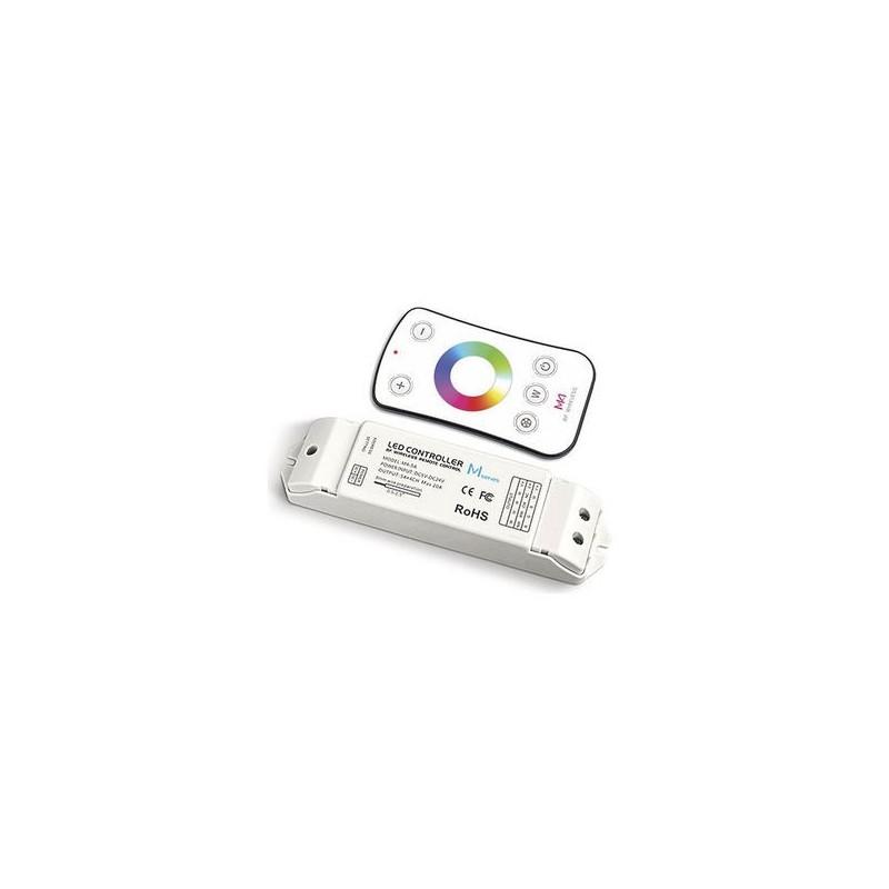 Dotykový dálkový ovladač RGBW s přijímačem