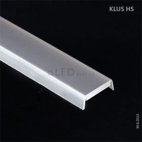 Krycí lišta KLUS HS12 mléčný l 3