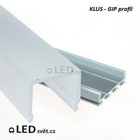LED profil KLUS GIP (bez krytky)
