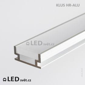 LED profil KLUS HR-ALU (bez krycí lišty) l 3