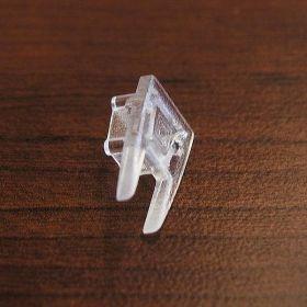 Koncovky lišty č. 09 na sklo  - pár