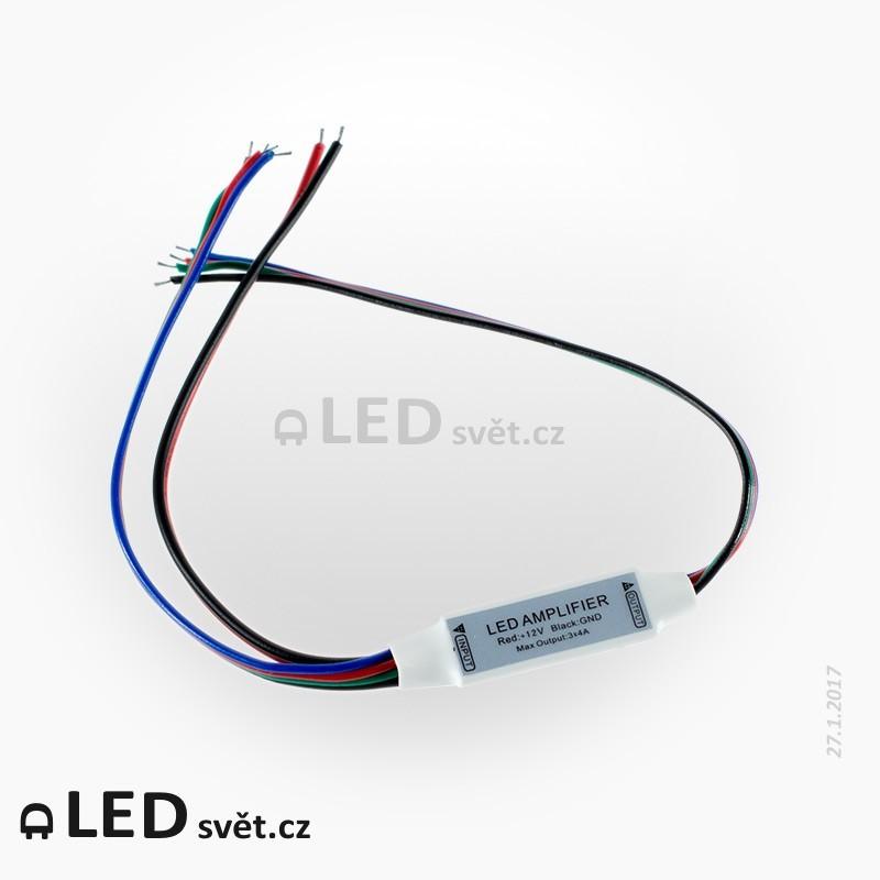 Zesilovač mini 3ch - RGB