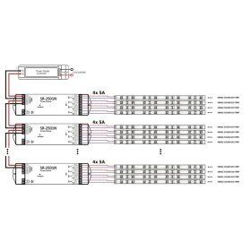 SUNRICHER SR-2828 - Jednozónový jednokanálový inteligentní dálkový ovladač
