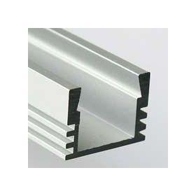 LED profil KLUS PDS4 hliník anod. bez krycí lišty