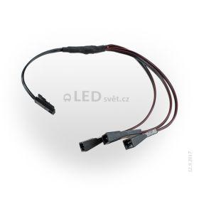 Kabel rozbočovací JST-M 1x samec - 3x samice, délka 0,2m