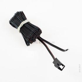 Konektor JST-M samice s kabelem, délka 2m