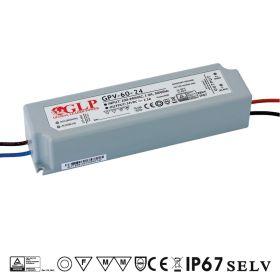 GLP GPV-60-24 Napěťový zdroj pro LED 24V 2.5A 60W
