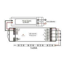 TRE-P1-0104-8 přijímač 4*8A