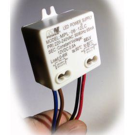 MPL-06-12LC Mini zdroj napětí 12V 6W