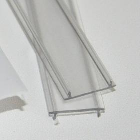 Krycí lišta klip transparent pro profil č.1 a 2