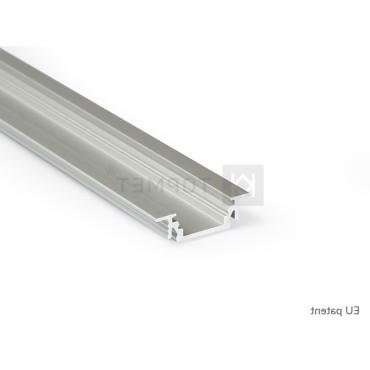 LED profil GROOVE10 BC/UX hliník elox l 2