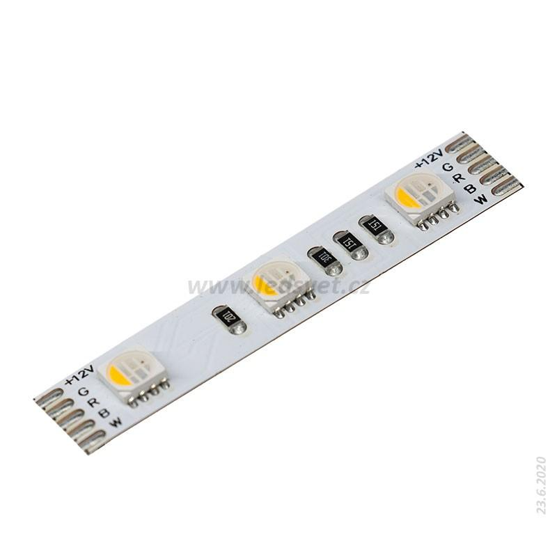 Led pásek RGBW 4 in 1 3000K 5050/60ks/18W/m 12V IP20
