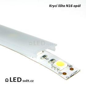Krycí lišta N16 KLIP UV OPÁL