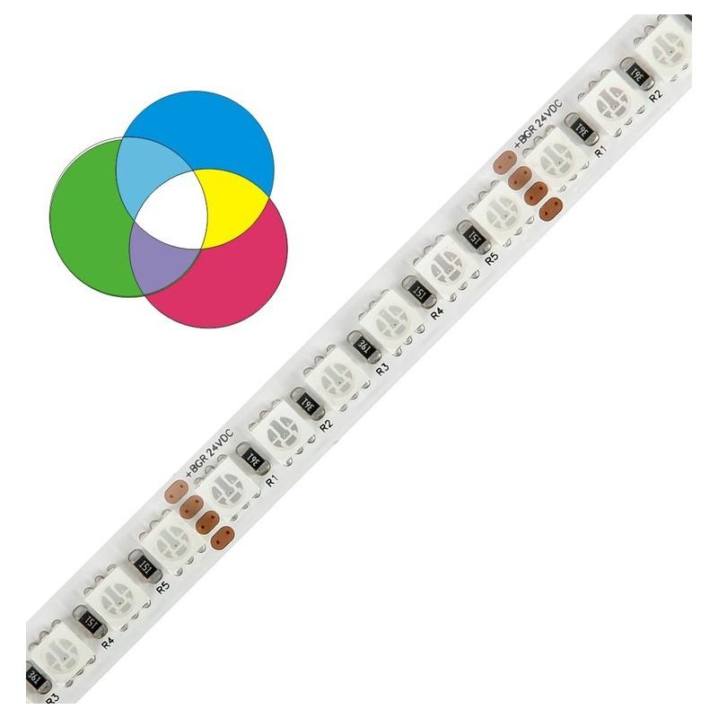 RGB LED pásek WIRELI 5050 120 LED/1m 28,8W 1,2A 24V IP20
