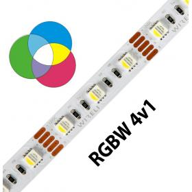 LED pásek WIRELI RGB-W 5050 60ks 19,2W 1,6A/1m 12V IP20