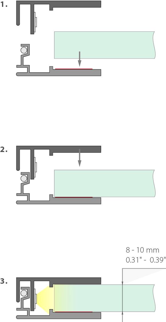 KRAV 810 montáž